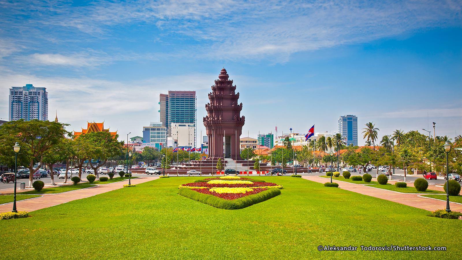 WAVING OF CAMBODIA  KINGDOM